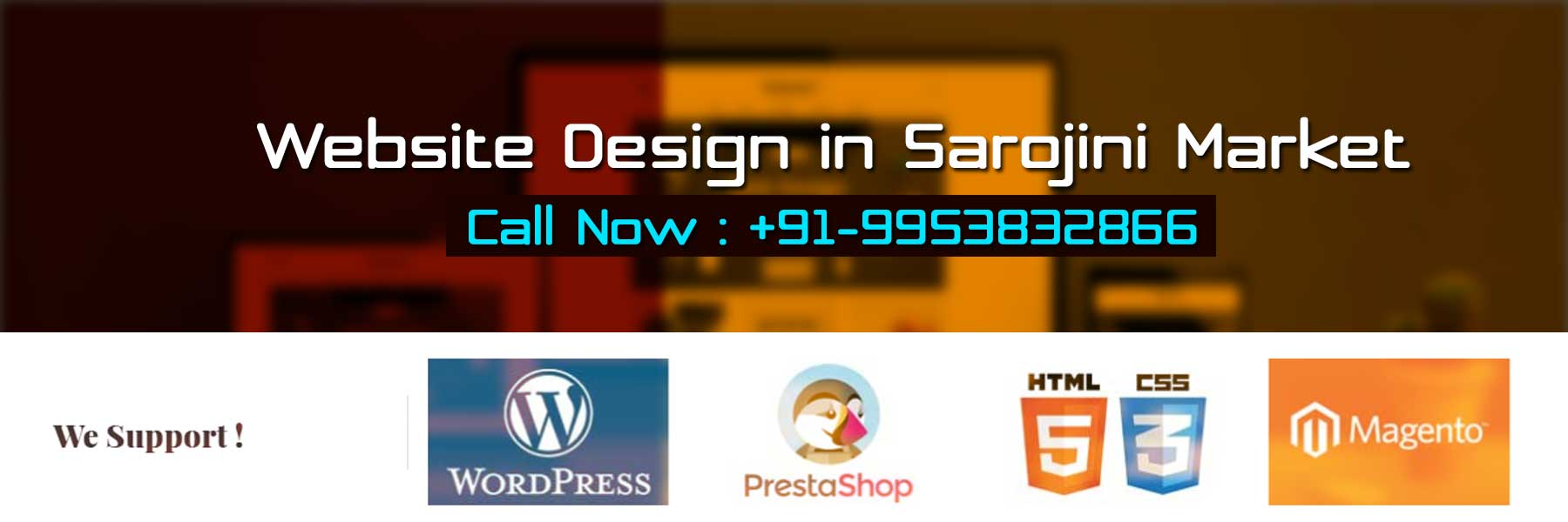 Website Design in Sarojini Market